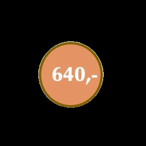 Julegaver kr 640,-